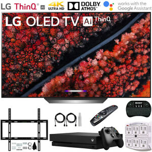"LG OLED77C9PUB 77"" C9 4K HDR Smart OLED TV w/ AI ThinQ (2019) +Xbox One X Bundle"