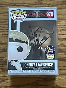 Funko Pop Johnny Lawrence #970 Signed William Zabka 7BAP 145 Pieces COA JSA