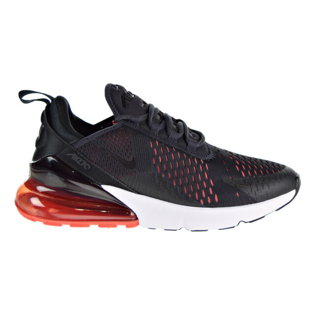 2d0e9f28d88e0 Nike Air Max 270 Mens Ah8050-013 Oil Grey Black Red Mesh Running ...