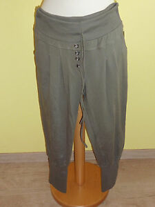Hose-made-in-Italy-taupe-Jogger-Pants-Groesse-M-neu