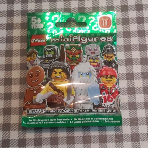 Lego Diner Serveuse série 11 Non Ouvert Neuf Factory sealed