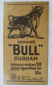 Vintage-1921-Bull-Durham-Tobacco-Newspaper-Advertising-Ad-Fridge-Magnet