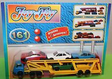Joy Toy No 161 Bedford Car Transporter + 4 cars (Made in Greece) NEW!
