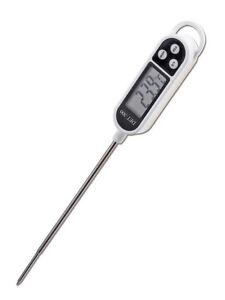 digital einstich thermometer braten lebensmittel fleisch 50 300 c ebay. Black Bedroom Furniture Sets. Home Design Ideas