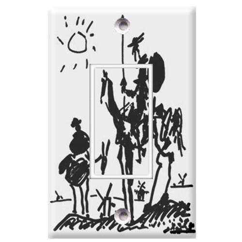Light Switch Covers Home Decor Outlet Don Quixote Picasso
