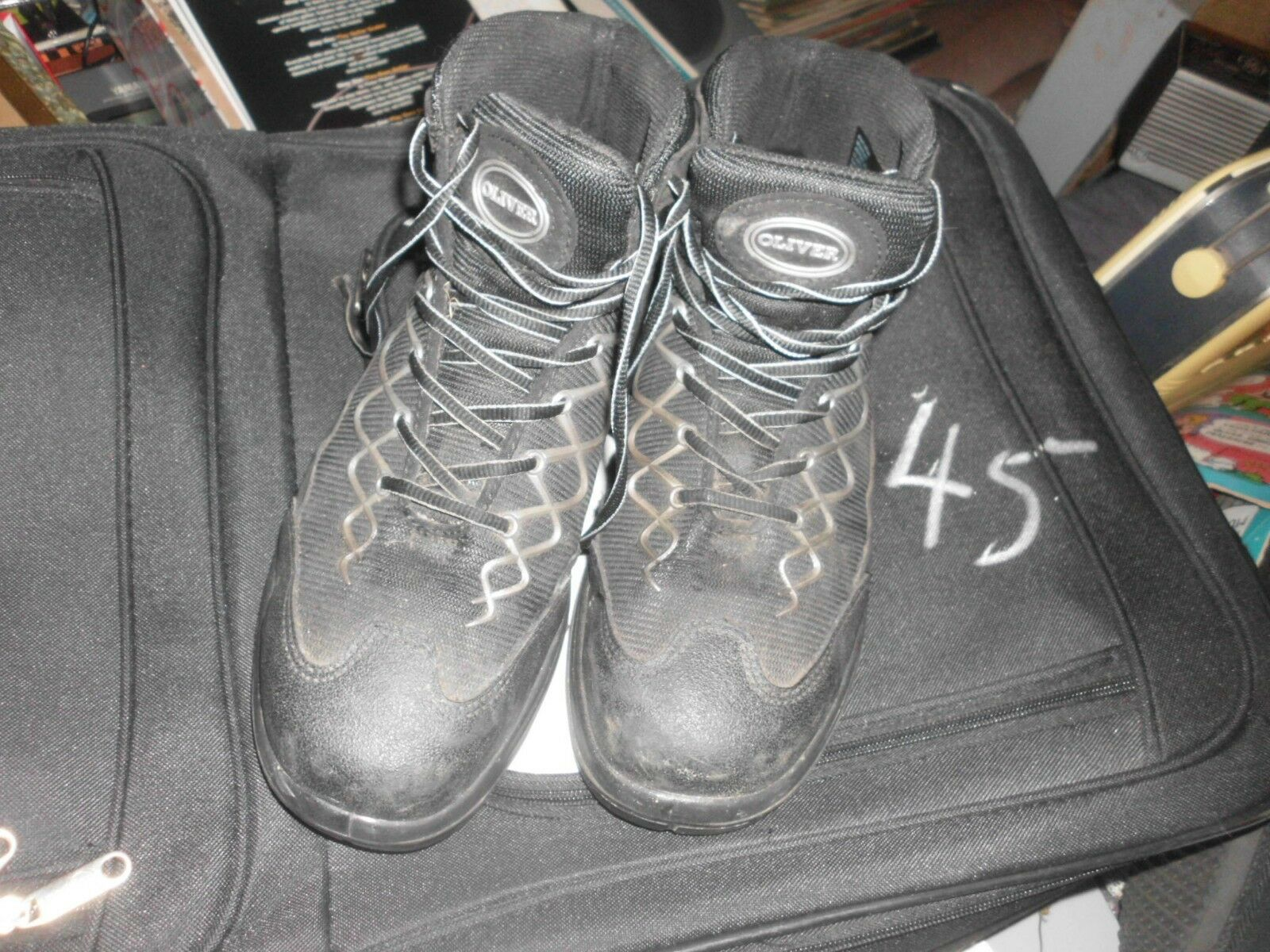 OLIVER STEEL TOE BOOTS SIZE US 9