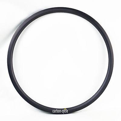 40mm Clincher Carbon Rim 20H 24H 27mm Road Bicycle Race UD Matt Wheel 700C Race