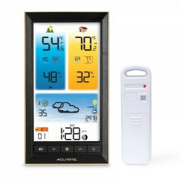 BRAND NEW - AcuRite Vertical Weather Station with Colour Display