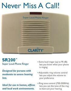 Telephone-Ringer-Loud-95dB-with-Phone-Flasher-Visual-Flashing-Light-Notifier