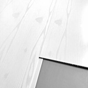 Details About 9 White Wood Effect Bathroom Wall Cladding Panels Pvc Interior Wall Cladding