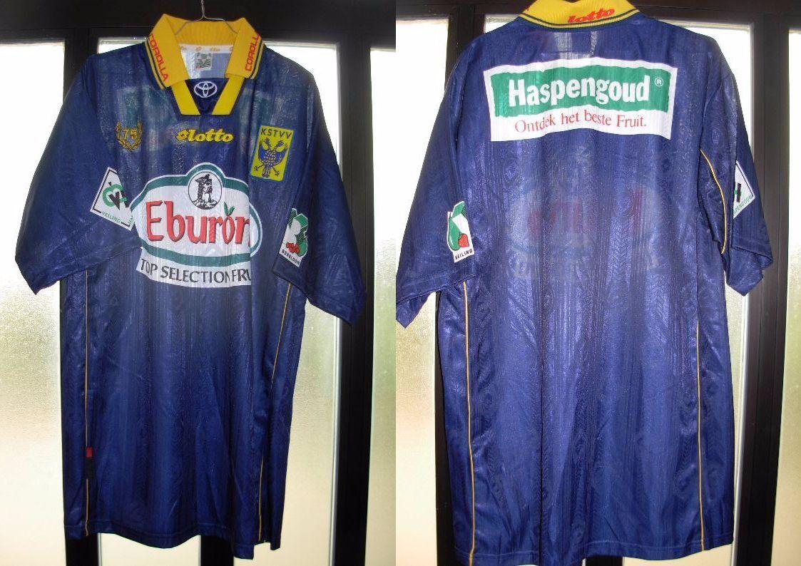 Maglia shirt sint truiden belgio lotto no number nr usata XL perfetta
