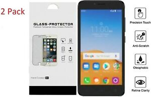Details about For Alcatel Tetra 6753B 5041C 2 Pack Tempered Glass Protector