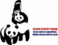 Vinyl Decal Sticker - Wwf Panda Chair Car Car Truck Bumper Window Jdm Fun 7