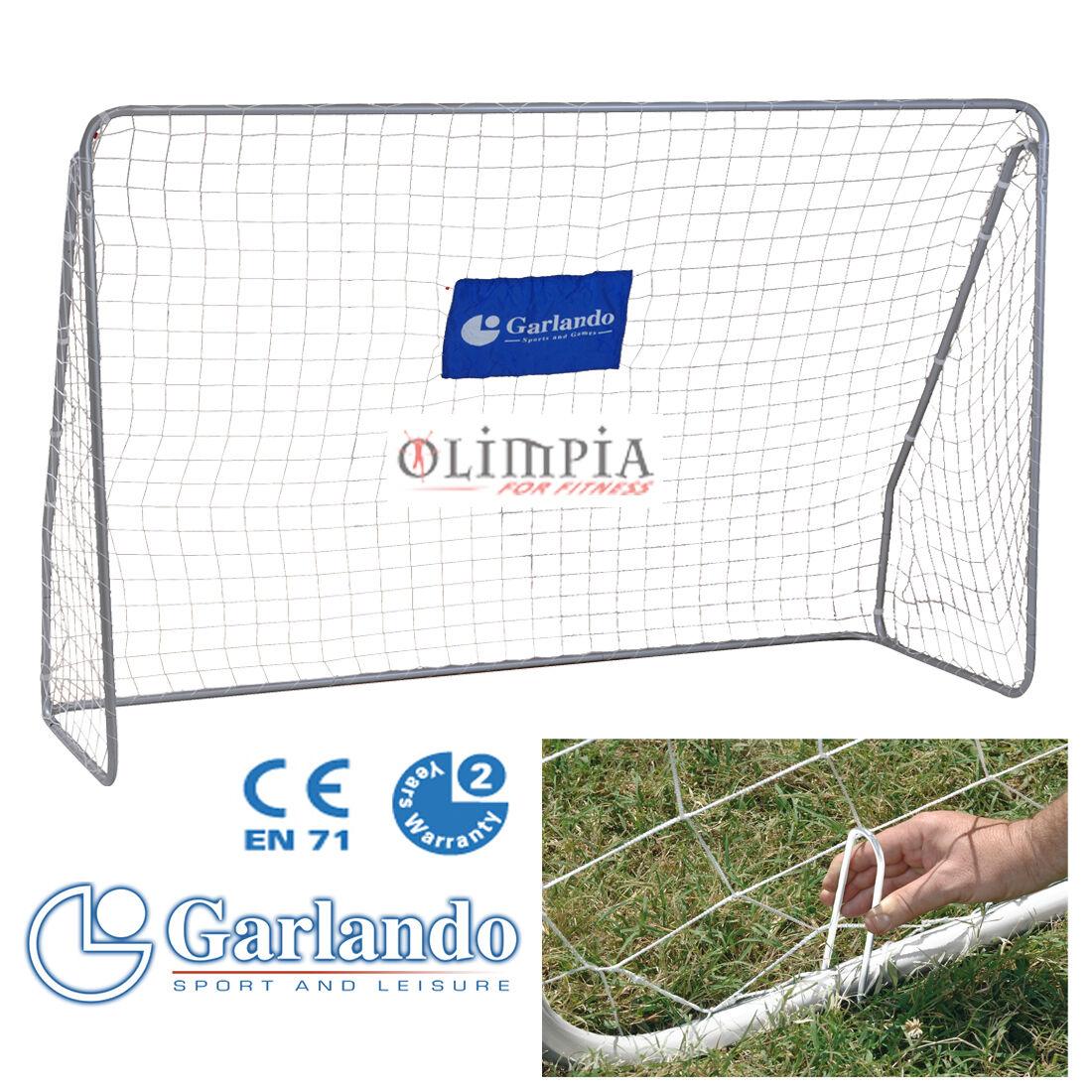 GARLeO  Porta Calcio FIELD MATCH 300x200cm  Regolamentare per CALCETTO