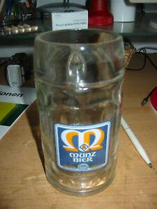 Glas-Bier-Krug-0-5l-Muenz-Brauerei-Guenzburg-Glas
