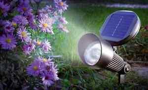 Lampada faretto ad energia solare faretto da giardino solari con
