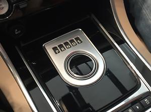 Chrome Indoor Gear Shift Frame Cover Trim for Jaguar F-pace X761 2016 2017