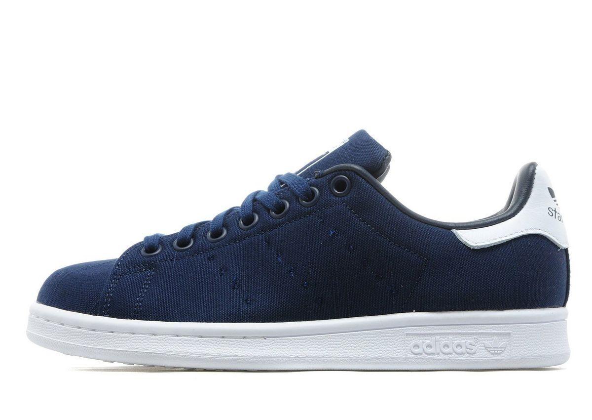 Adidas Originals Stan Smith Mujer Mujer Mujer ® (tamaño de Reino Unido 4 EUR 36.5) Azul Marino Textil Nuevo  presentando toda la última moda de la calle