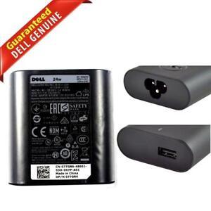 genuine 24w dell venue 11 pro 5130 7130 ac adapter charger da24nm130 rh ebay com
