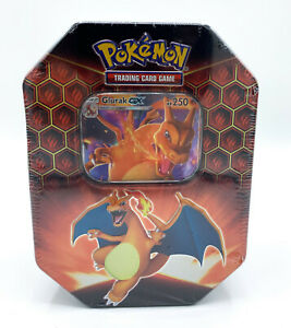 Pokemon-Tin-Box-Glurak-GX-Nr-79-Verborgenes-Schicksal-Deutsch-Neu-Deutsch