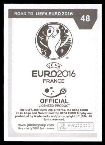 Nº 48 República Checa Panini Camino A Euro 2016-Tomas Necid