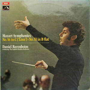 Daniel Barenboim conducting English Chamber Orchestra - Mozart Symphonies: No. 3
