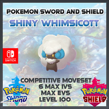 Ultra Shiny Whimsicott | Pokemon Sword & Shield | 6IVS | Level 100 | Competitive