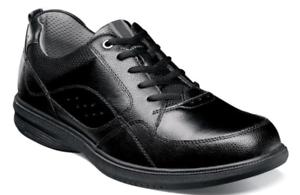 Nunn Bush Kore Walk Moc Toe Oxford Zapatos Negro 84811-001