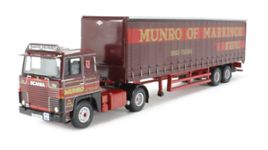 Corgi Modern Heavy Haulage CC15310 Scania 111 40ft Curtainsid Munro & Sons 1 50