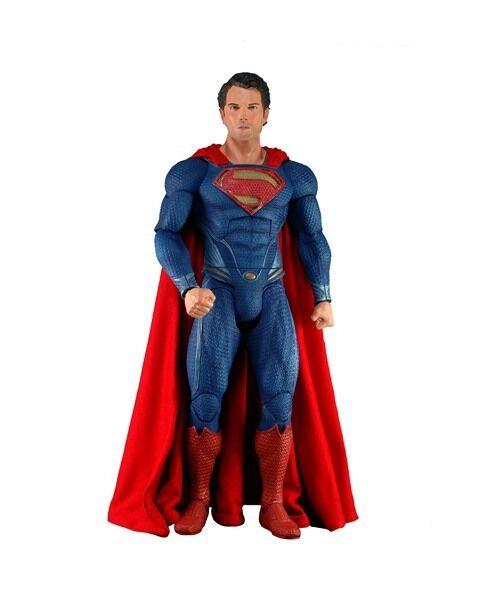 DC COMICS  MAN MAN MAN of STEEL - SUPERMAN 1 4 Action-Figur 18″ NECA 04f282