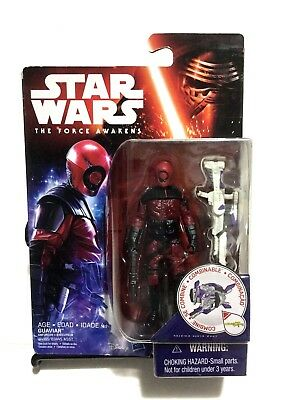 Star Wars The Force Awakens Guavian Enforcer 3.75 inch Figure 4 Years B4165 New