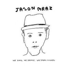 We Sing. We Dance. We Steal Things. [Digipak] by Jason Mraz (CD, May-2008) NEW