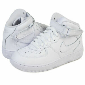 NIKE AIR FORCE 1 MID WHITE/WHITE-WHITE