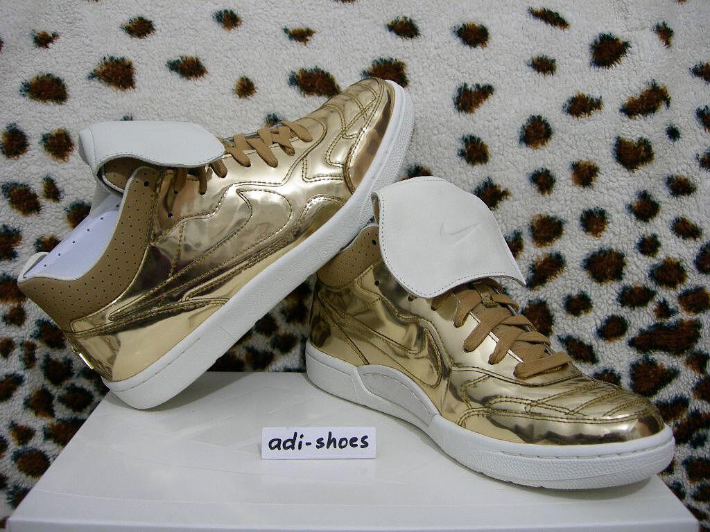 NIKE TIEMPO 94 MID SP NSW METALLIC LIQUID GOLD US tech 8,5-11 af1 645330-770 air tech US f404af
