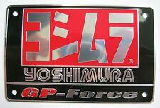 Yoshimura GP-FORCE  Auspuff Alu Emblem Yamaha Honda Suzuki Kawasaki 1000 750 500