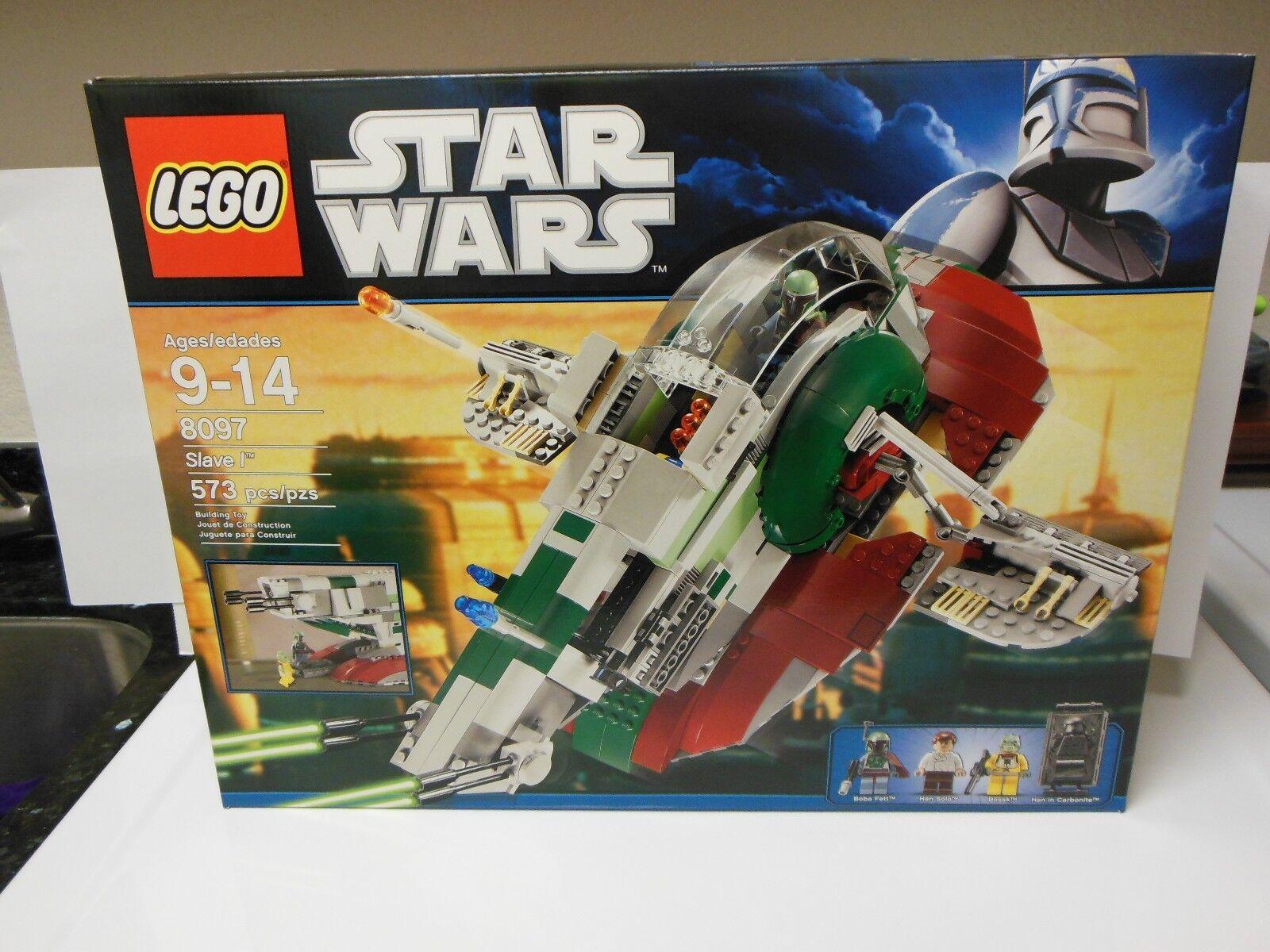 LEGO 8097 Star Wars Slave I One Boba Fett  BRAND NEW FACTORY SEALED retirot