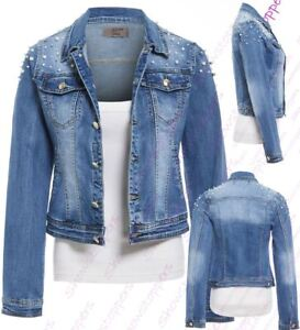 ebay ladies denim jacket