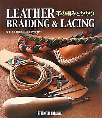 REV Leather Braiding /& Lacing //Japanese Handmade Craft Pattern Book  Band New!
