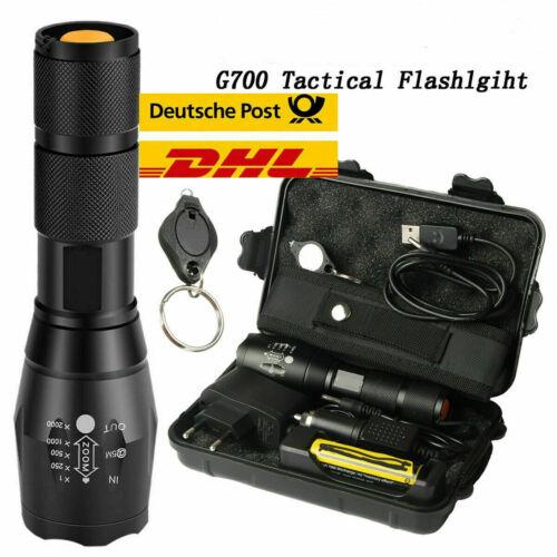 20000lm Taschenlampe  G700 CREE L2 LED taktische Taschenlampe Military Torch