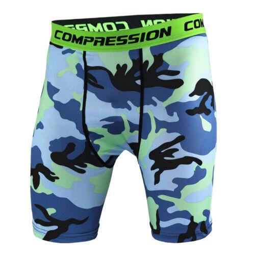 Herren Kompression Shorts Gym Baselayer Jogger Laufhose Training Hose Unterhose