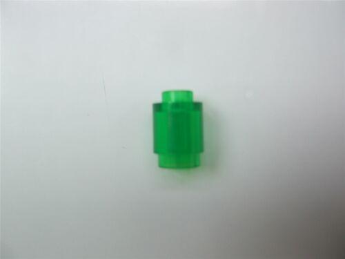 5 x Lego Transparent green Round brick 1x1-6238046 Parts /& Pieces