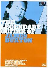 The Legendary Guitar of James Burton (DVD, 2005)