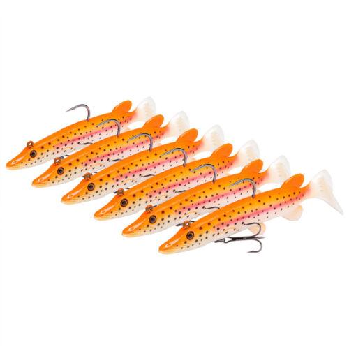 Bassdash Fishing Lure Bait Crank Fish Hooks Built-in Lead Weight 10.5cm//14g 6Pcs