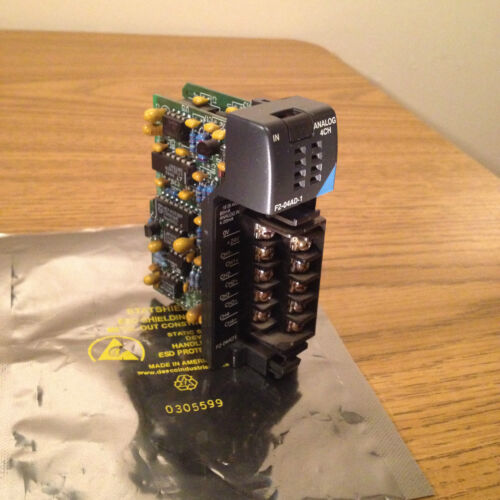 FACTS ENGINEERING F2-04AD-1 ANALOG 4CH INPUT MODULE