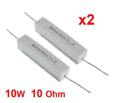 Resistenze 5W 68R 5 watt a filo in cemento lotto 5 pezzi