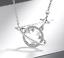 Indexbild 1 - 925 Silber Saturn mit Sternen Kette
