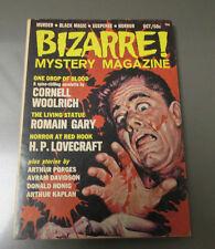 1965 BIZARRE Mystery Magazine #1 VF- Murder Black Magic Suspense Horror 142 pgs
