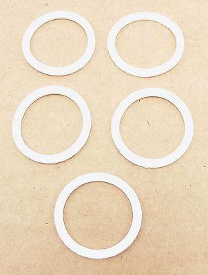 PRE-79109 (5 Pack) -10 AN Bulkhead Teflon Sealing Crush Washers Fuel Oil Coolant