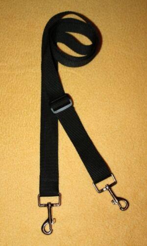 2 Punkt Tragegurt Sendergurt für Senderpult 25 mm breit schwarz