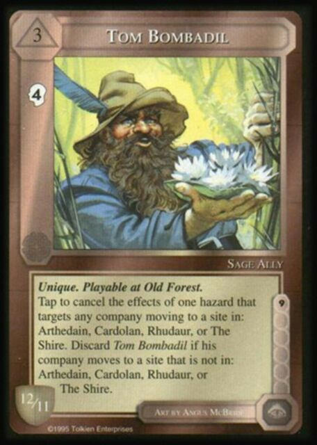 Tom Bombadil The Wizards Unlimited Middle Earth CCG